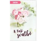 Nekupto Wedding Card For Your Wedding 115 x 170 mm G 21 3442 G