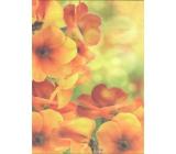 Nekupto Gift kraft bag medium 29 x 22 x 10 cm Flowers
