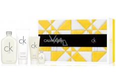 Calvin Klein CK One EdT 200 ml Eau de Toilette + Unisex Eau de Toilette 15 ml + Shower Gel 100 ml + Body Lotion 200 ml, Gift Set