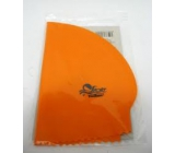 Volcano Swimming cap made of natural latex smooth size 4 1 piece