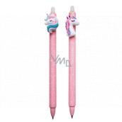 Colorino Eraser pen Unicorn pink, blue refill 0.5 mm 1 piece