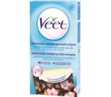 Veet full body wax strips with a strip for easy grip on the whole body of 44 pieces