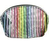Etue Transparent - color strip 13 x 10 x 1,5 cm 1 piece 70100