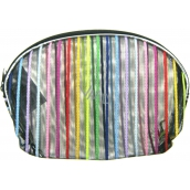 Etue Transparent - color stripe 13 x 10 x 1,5 cm 1 piece 70100