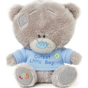 Me to You Tiny Tatty Teddy Teddy bear in blue T-shirt 11.5 cm