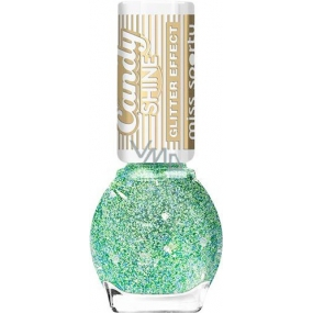 Miss Sports Candy Shine Glitter Effect nail polish 004 7 ml