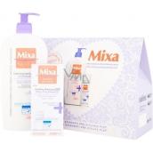 Mixa Calming Body Balm Atopiance zklidňující tělové mléko 400 ml + Soothing Moisturizer Rich Pro-Tolerance zklidňující hydratační krém 50 ml, kosmetická sada