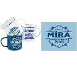 Albi Tin mug named Míra 250 ml