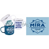 Albi Tin mug named Míra 250 ml
