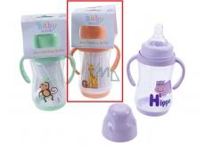 Baby Bottle with Grab Baby First 250ml Giraffe 8770