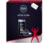 Nivea Cassette Men SG250ml Active Clean + Cream 75ml 6254