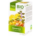 Apotheke Bio Ginger with lemon and mint herbal tea helps digestion, defenses 20 x 1.5 g