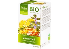 Apotheke tea BIO Ginger with lemon and mint tea 20x1,5g