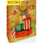 Nekupto Gift paper bag large 32,5 x 26 x 13 cm Christmas 1811 30 WBL