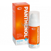 Topvet Panthenol + Cream 11% soothes, regenerates irritated and cracked skin 50 ml