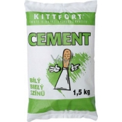 Kittfort Cement bílý 1,5 kg