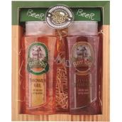 Bohemia Gifts & Cosmetics Beer Spa 250 ml shower gel + hair shampoo 250 ml, gift set