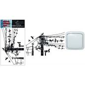 Room Decor sticker for switch wires 24 x 15 cm 1 piece