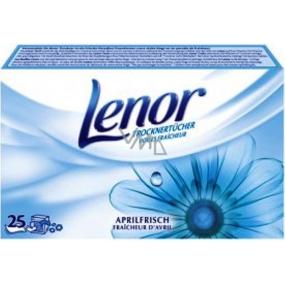 Lenor Aprilfrisch napkins for clothes dryer 25 pieces
