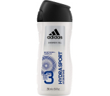 Adidas Hydra Sport shower gel for body and hair for men 250 ml