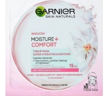 Garnier Moisture + Comfort Super hydrating soothing textile facial mask 15 minutes 32 g