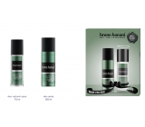 Bruno Banani Made 75 ml perfumed deodorant glass + 150 ml deodorant spray gift set for men