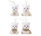 Teddy bear plush 6 cm, 2 pcs in bag