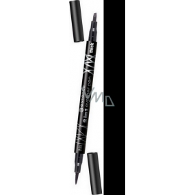 Essence Eyeliner eyeliner pen 2in1 shade black 1 ml