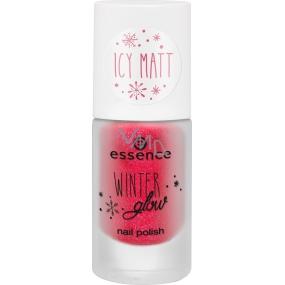 Essence Winter Glow Nail Polish nail polish 01 Miss Frost 8 ml