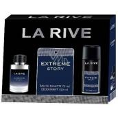 La Rive Extreme Story eau de toilette for men 75 ml + deodorant spray 150 ml, gift set
