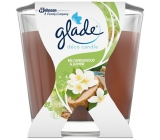 Glade Bali Sandalwood & Jasmine Sandalwood from Bali and jasmine scented candle burning time up to 30 hours 70 g
