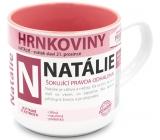 Nekupto Pots A mug named Natalie 0.4 liters