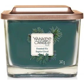 Yankee Candle Frosted Fir - Elevation Medium Soy Candle Soybean Scented Candle 347 g