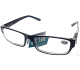 Berkeley Reading glasses +4 plastic black MC2062