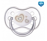 Canpol pacifier silicone. symetric .. 0-6m Newborn Baby Beige 3946