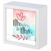 Mr. Nekupto Gift Box Mr. & Mrs. 16 x 16 x 6 cm