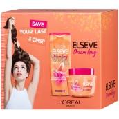 Loreal Elseve Dream Long hair restorative shampoo 250 ml + SOS hair mask 300 ml, cosmetic set