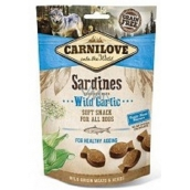 Carnilove Dog Sardines with copper garlic delicious semi-soft treat suitable for all dogs to retard aging 200 g