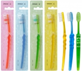 Spokar 3416 Clinic Hard hard toothbrush, straight-cut fibers with precisely rounded ends