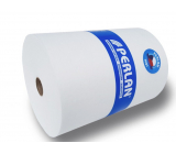 Pervin / Perlan non-woven fabric of 100% viscose, universal cloth for cleaning and care 45 g 30 x 40 cm 475 pieces 1 roll