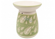Aromalampa ceramic with leaves 16 cm