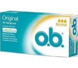 ob Original Normal tampons 16 pieces