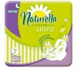 Naturella Camomile Ultra Night intimate pads 7 pieces