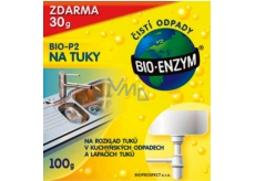 Bio-Enzyme Bio-P2 Biological preparation for the decomposition of fats in waste systems 100 g