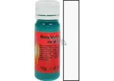 Art e Miss Color for light and dark textile 11 metallic White 12 g
