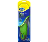 Scholl Gel insoles for men's Sport shoes