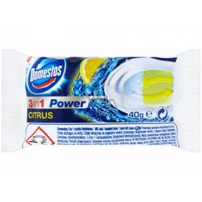 Domestos 3in1 Power Citrus Toilet spare block 40 g