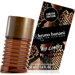 Bruno Banani No Limits Man toaletní voda 50 ml