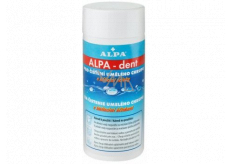 Alpa-Dent with whitening effects product for cleaning artificial teeth 150 g