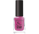 Dermacol 5 Day Stay Long-lasting nail polish 17 Pink Affair 11 ml